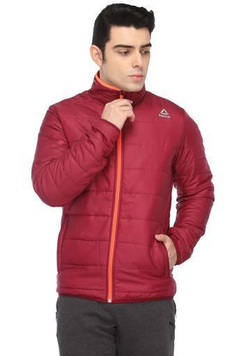 509c17d2b Buy REEBOK Mens Zip Through Neck Solid Jacket