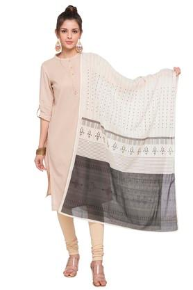 Womens Embroidered Dupatta