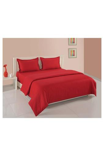 Red Solid Double AC Comfortor