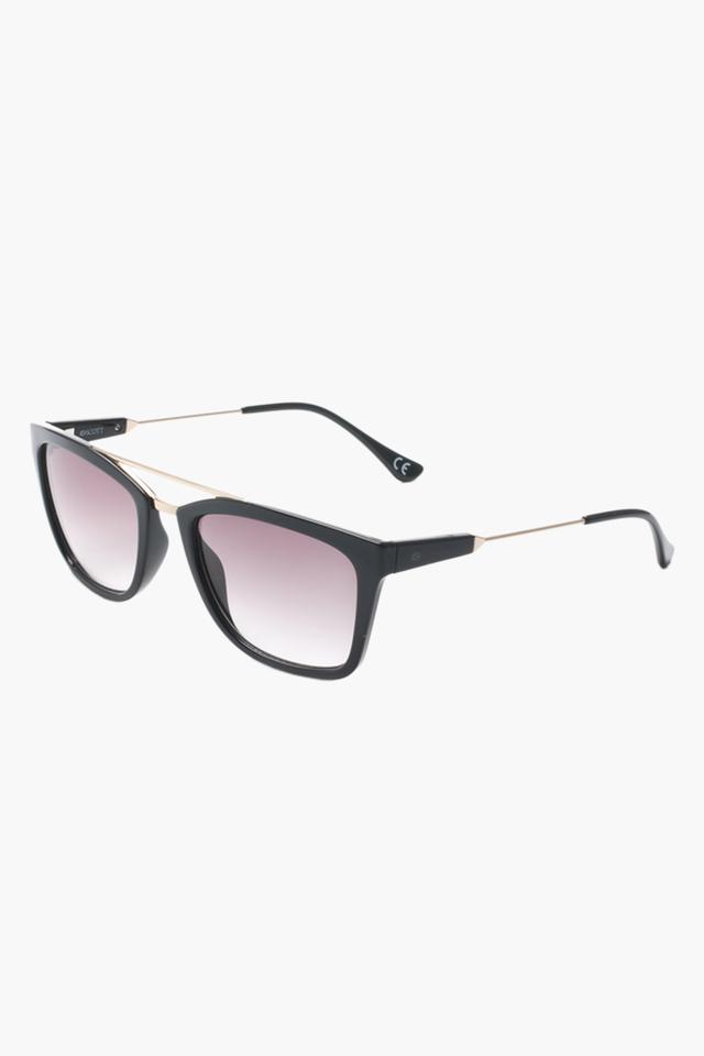 Unisex Square Polycarbonate Sunglasses - 2198 C1 S