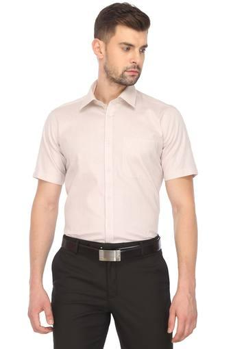 Mens Slim Collar Solid Shirt