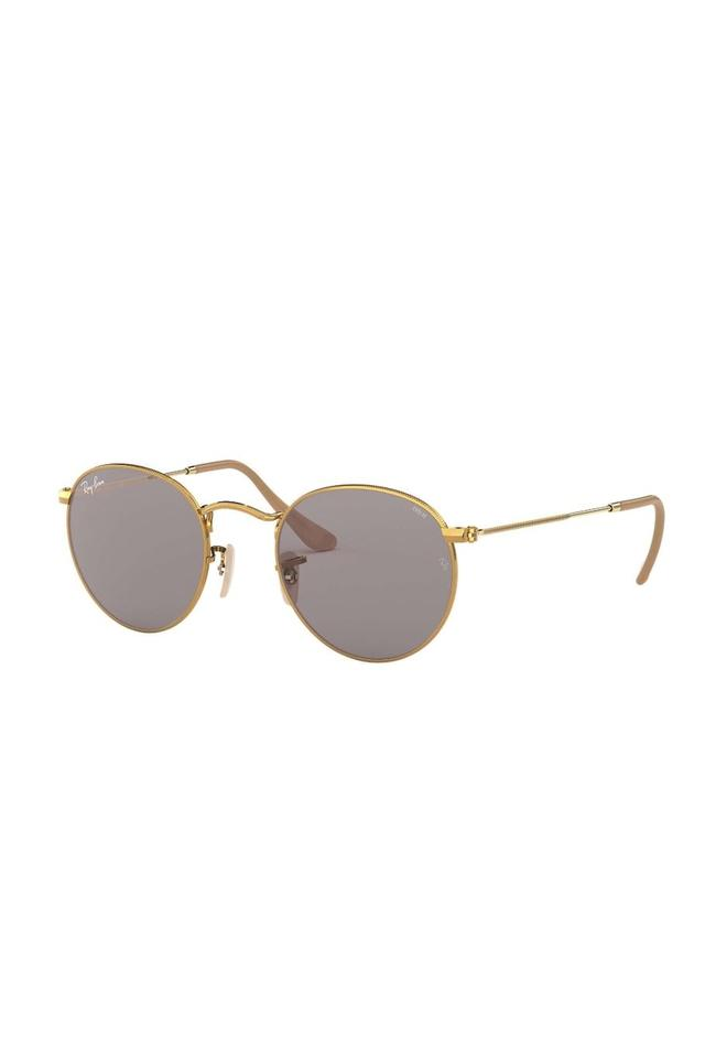Unisex Round UV Protected Sunglasses