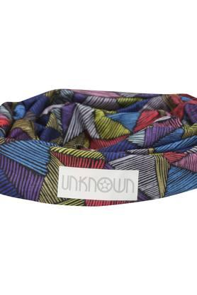 Womens Multi Color Printed Headwear