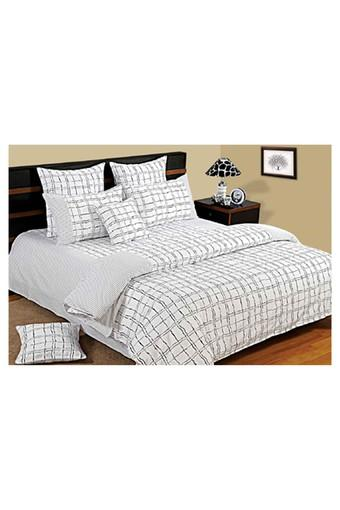 Check Single Bed Quilt
