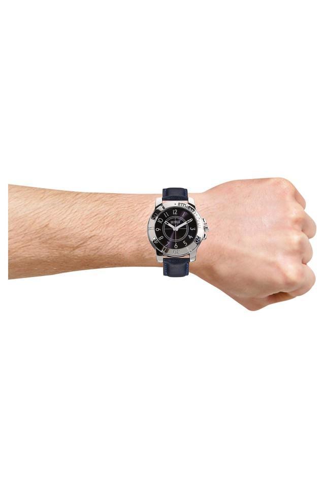 Mens Eco Series Black Dial Analog Watch - HR717MLBK78
