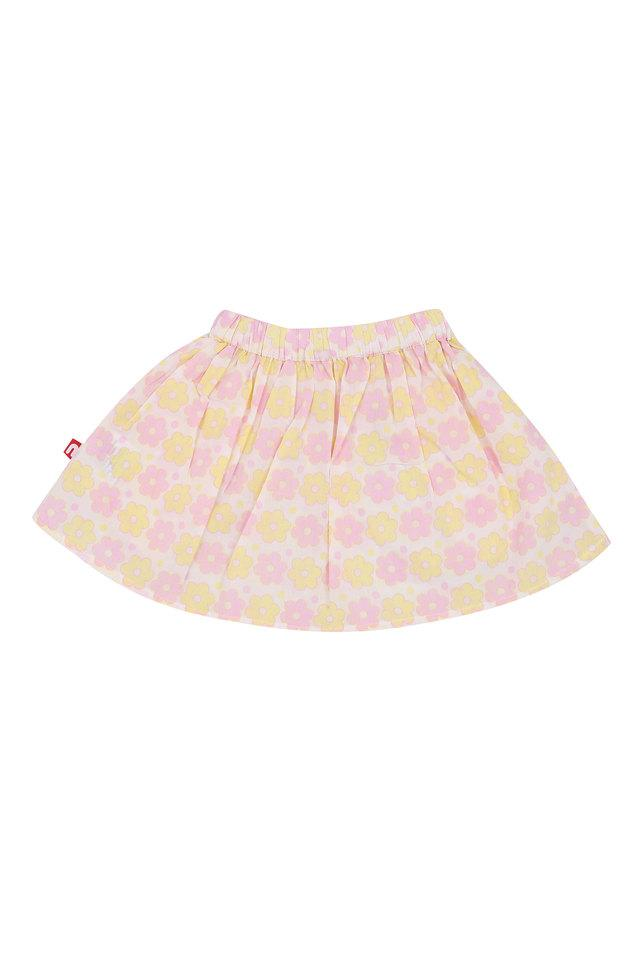 Girls 2 Pocket Printed Skirt