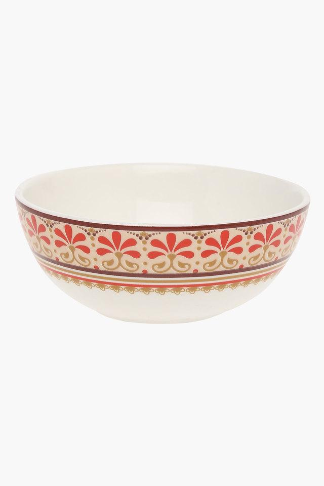 Round Grace Printed Vegetable Bowl