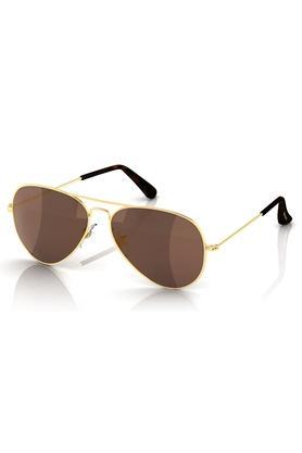 FASTRACKMens Aviator UV Protected Sunglasses - 202383716_9999