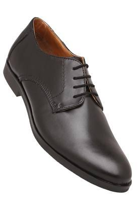 VENTURINI Mens Leather Lace Up Derbys - 204000285_9212