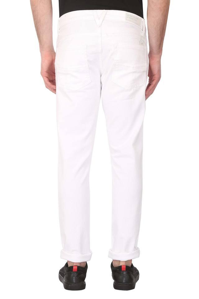 Mens Coated Jeans