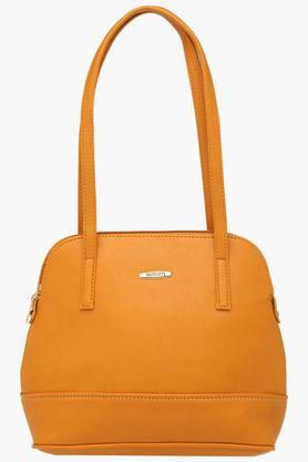 HAUTE CURRYWomens Zipper Closure Shoulder Handbag