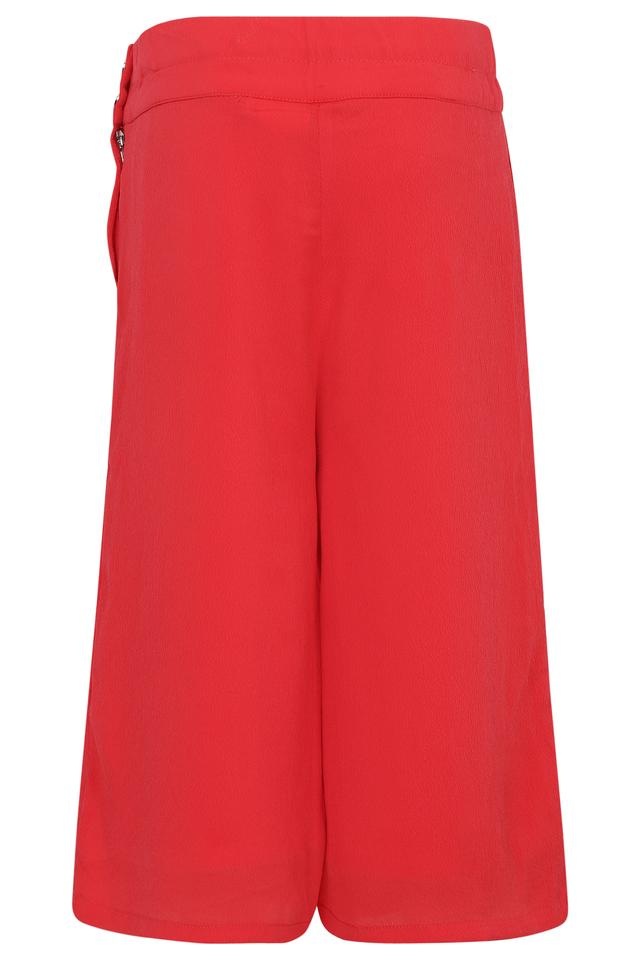 Girls Solid Culottes