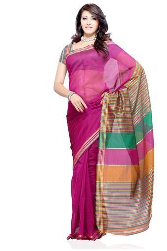 Womens Cotton Designer Saree