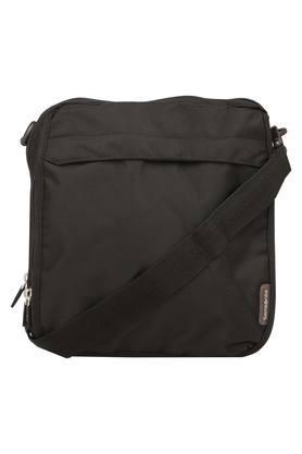 X SAMSONITE Mens Zipper Closure Sling Bag 5c42fb9a781ee
