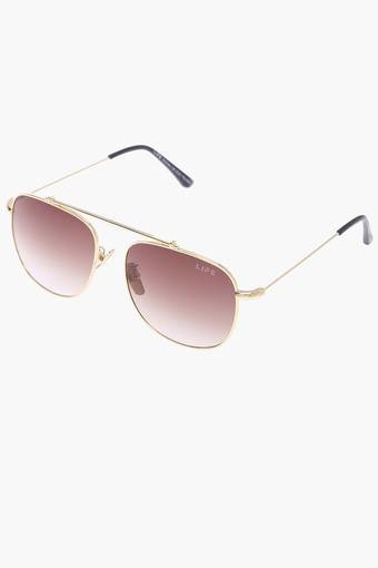 Unisex Non Polarized Aviator Sunglasses LIO27C40