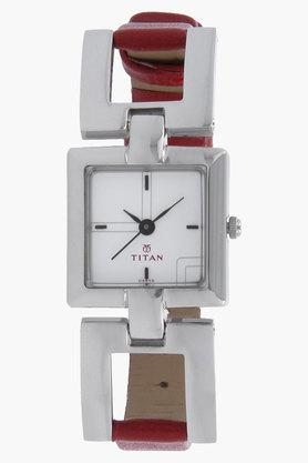 Titan Womens Purple White Dial Analog Watch - NJ2484SL01 image