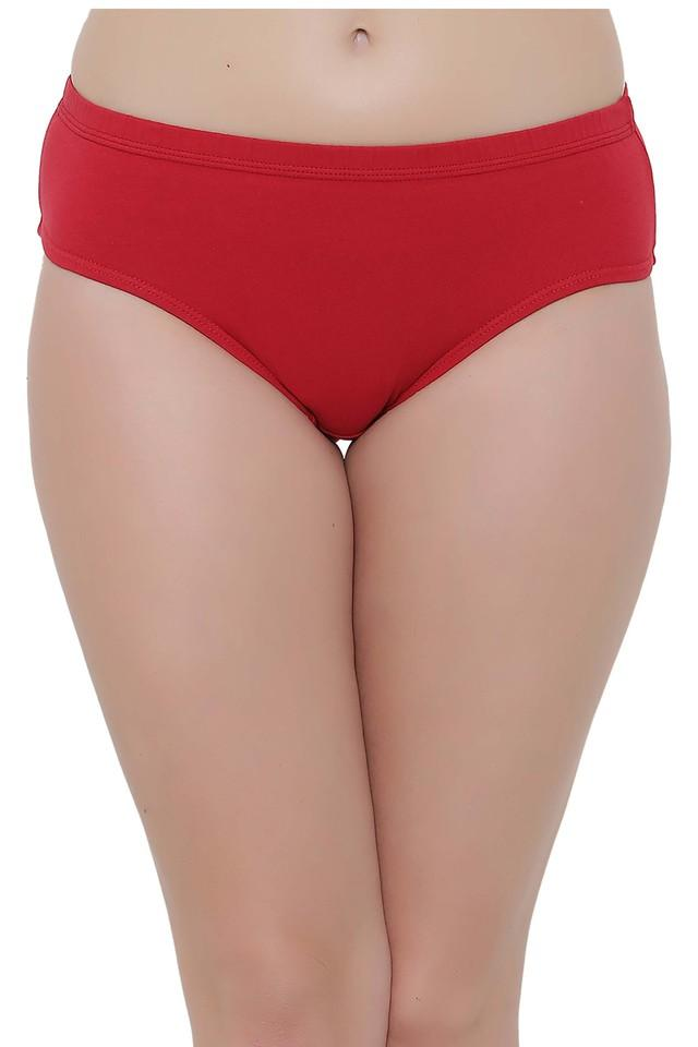 Womens Solid Hipster Briefs - Pack of 2