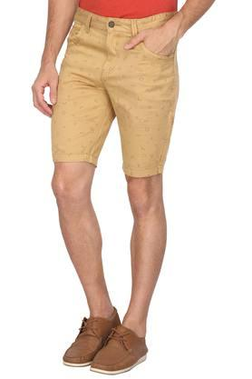 Mens 5 Pocket Printed Shorts