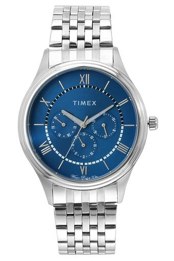 Mens Blue Dial Metallic Multi-Function Watch - TWEG16803