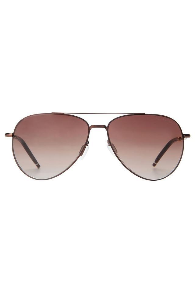 Mens Full Rim Polarized Lens Aviator Sunglasses - AZ60020C042