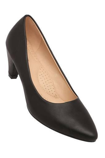 Womens Formal Wear Slip On Heeled Shoes