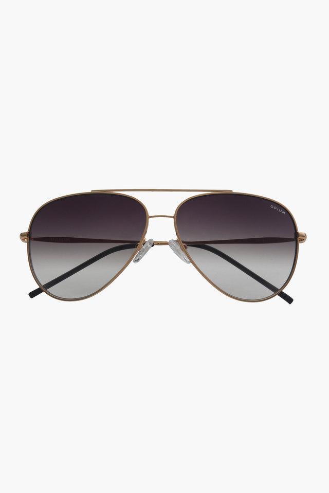 Womens Aviator Gradient Sunglasses