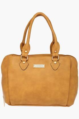 ELLIZA DONATEINWomens Zipper Closure Satchel Handbag - 203261139