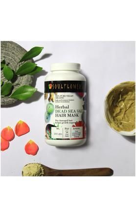Herbal Dead Sea Salt Hair Mask