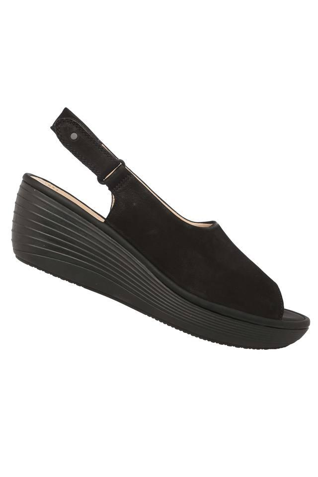 Womens Casual Wear Velcro Closure Wedges