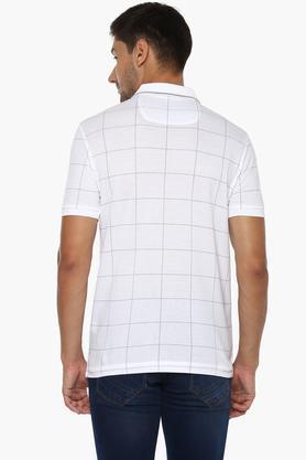 Mens Check Polo T-Shirt