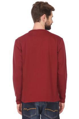 STOP - MaroonT-Shirts & Polos - 1