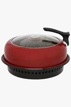 Round Gas Over Tandoor with Lid