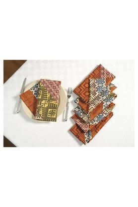 SWAYAMPrinted Dinner Napkin Set Of 6 - 204600032_9126