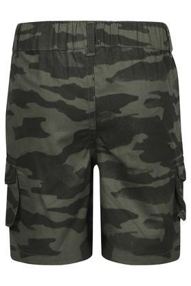 Boys 4 Pocket Camouflage Shorts