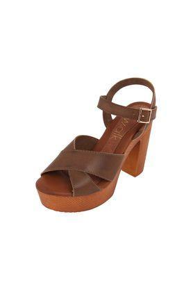 CATWALKWomens Casual Wear Buckle Closure Heels - 203838264_9126