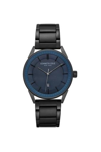 Mens Blue Dial Analogue Watch