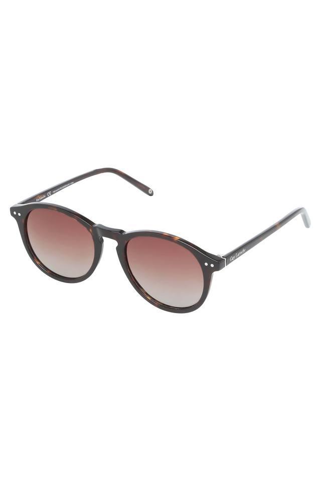 Womens Full Rim Round Sunglasses - GLS019-C171