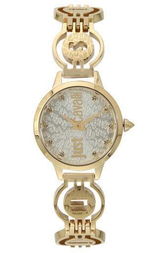 Womens Grey Dial Metallic Analogue Watch - 1L028M0035