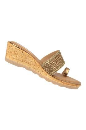 Womens Casual Wear Slip On Wedges