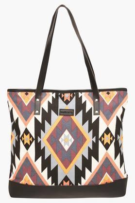 HAUTE CURRYWomens Zipper Closure Tote Handbag - 203524644