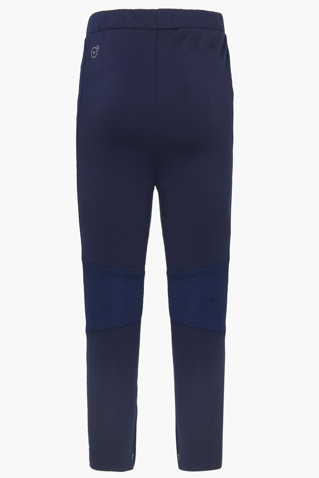 Boys Solid Track Pants