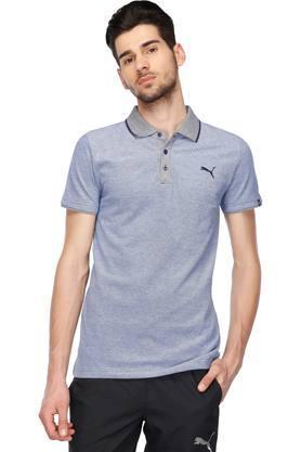 PUMAMens Slub Polo T-Shirt