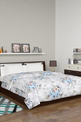 Floral Printed Double Reversible Quilt