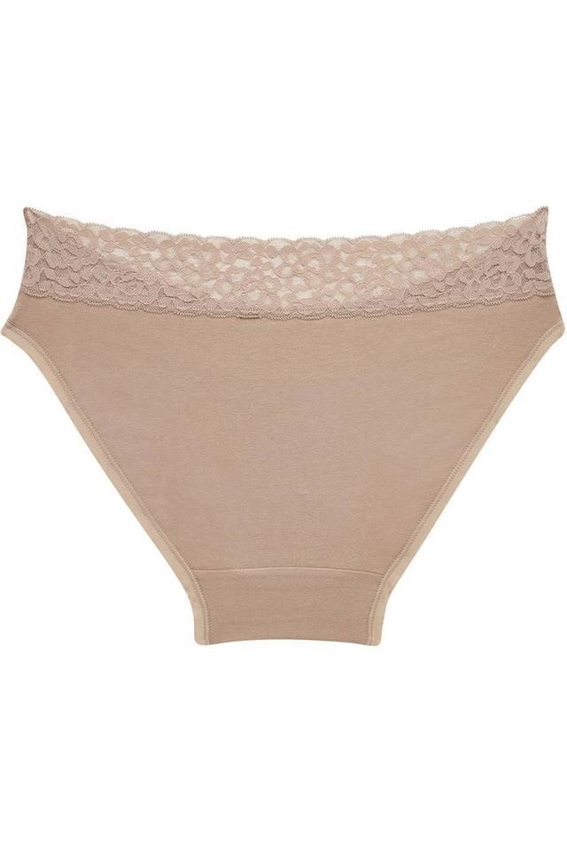 Womens Solid Bikini Briefs Pack of 2