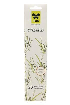 IRISCitronella Incense Sticks Set Of 20