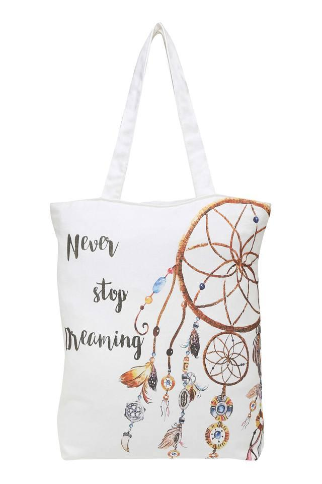 Printed Canvas Bag with Handle