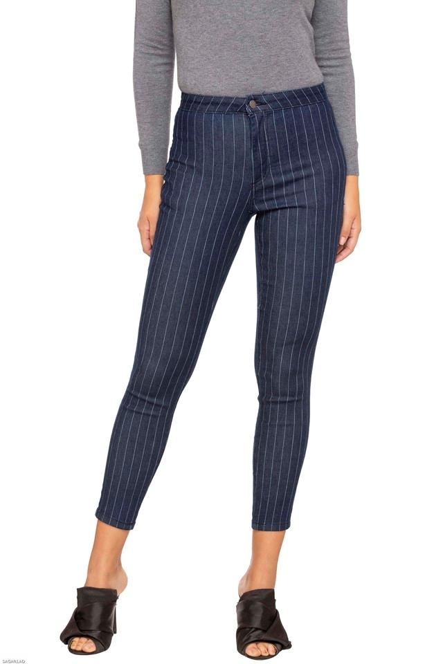 Womens Stripe Pants