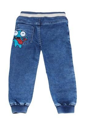 Boys 3 Pocket Solid Jeans