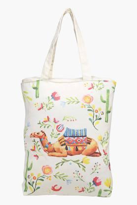 Canvas Printed Camel Shopping Bag