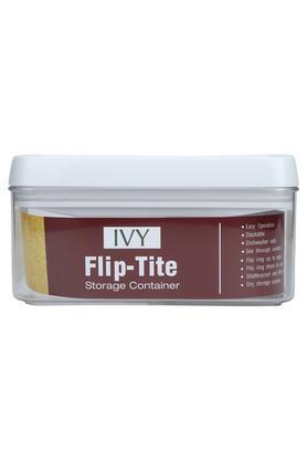 Flip Tite Rectangular Stackable Storage Container - 1.0L